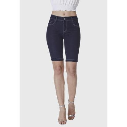 Bermuda Jeans HNO Ciclista Amaciada Feminina