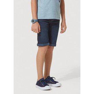 Bermuda Jeans Infantil Masculina Com Elástico Play Jeans Hering Kids