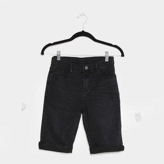 Bermuda Jeans Juvenil Hering Kids Masculina