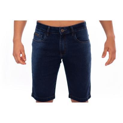 Bermuda Jeans Masculino Slim Confort