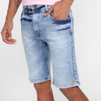 Bermuda Jeans Nicoboco Slim Fit Lednice Masculina