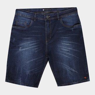 Bermuda Jeans Nicoboco Slim Fit Vancouver Masculina