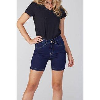 Bermuda Jeans Osmoze Meia Coxa Z 6003100073 Azul - Azul - 48