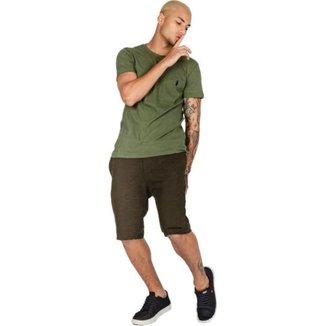 Bermuda Jeans RockeSoda Masculina Skinny Conforto Dia a Dia
