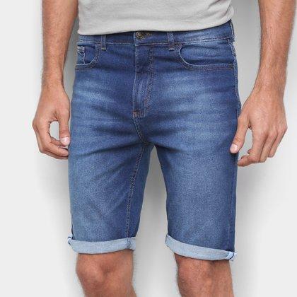Bermuda Jeans Slim Hering Masculina