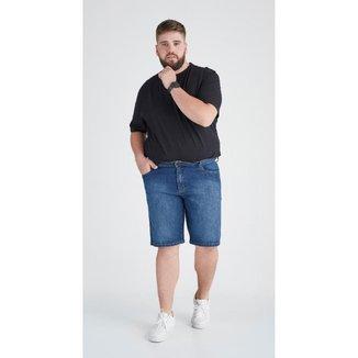 Bermuda Jeans Zait Plus Size Tradicional Alan Masculina