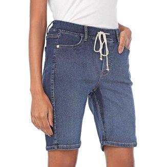 Bermuda Jogger Jeans Feminino