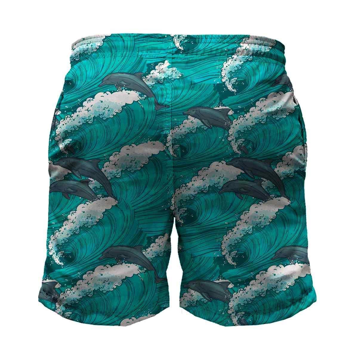 Bermuda Maromba Fight Wear Dolphin Com Bolsos Masculina - Azul