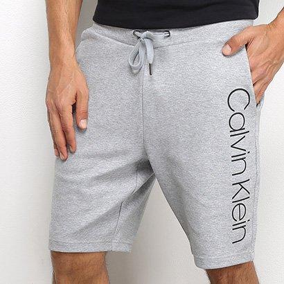 Bermuda Moletom Calvin Klein Masculina