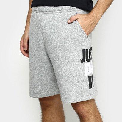 Bermuda Moletom Nike Just Do It Masculina