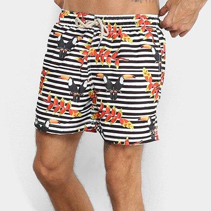 Bermuda Shorts Co Listrada Tucano Masculina