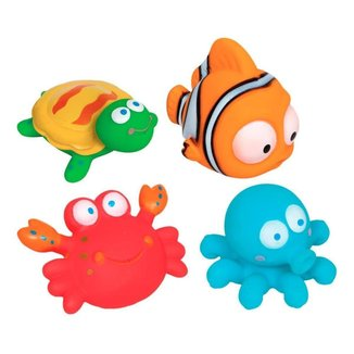 Bichinhos para Banho Infantil Buba 4 Peças Oceano