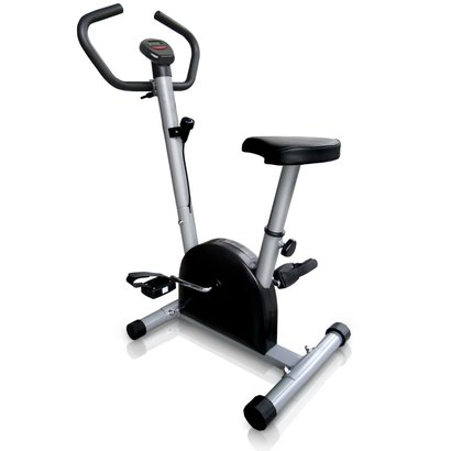 Bicicleta Ergométrica com Controle de Carga, Silenciosa e Compacta
