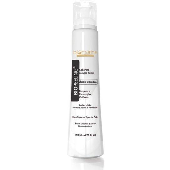 Biopeeling Biomarine - Sabonete Mousse com Ácido Glicólico 140ml Nuv & Ruche - Incolor