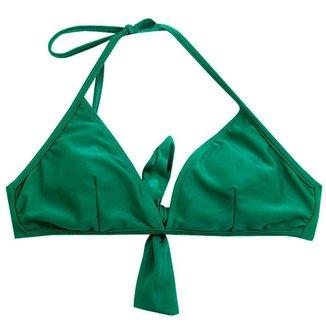 Biquíni Feminino Estampado Areia do Mar Verde