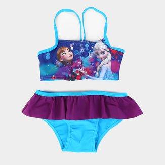 Biquíni Infantil Tip Top Frozen Feminino