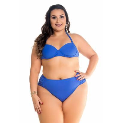 Biquini Maré Brasil  Liso Plus Size-Feminino
