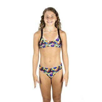 Biquini Nixie Swim Sunkini Juvenil Feminino