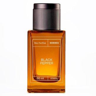Black Pepper Korres – Perfume Masculino EDP 50ml