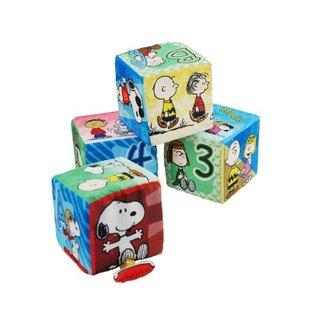 Blocos de Montar Snoopy Yes Toys - 4 Peças