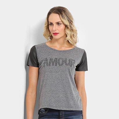 Blusa Acostamento Fashion Feminina-Feminino