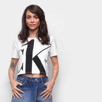 Blusa Básica Calvin Klein Estampada Feminina