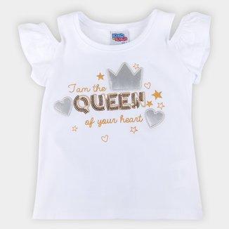 Blusa Bebê Kiko & Kika Queen Feminina