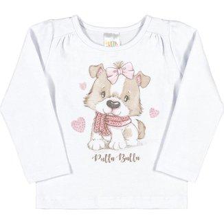 Blusa Bebê Menina Cotton
