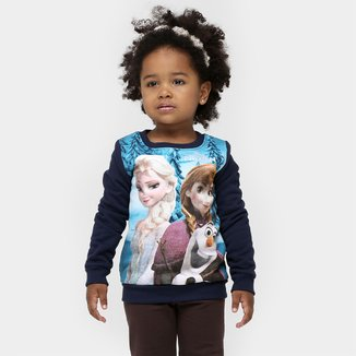 Blusa Brandili Frozen Infantil