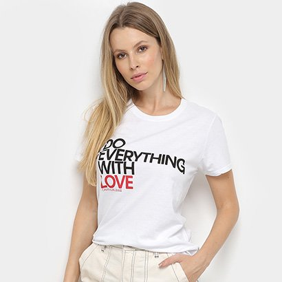 Blusa Calvin Klein Estampada Feminina