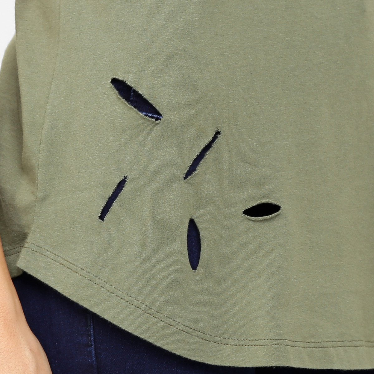 Blusa Calvin Klein Long Furos Feminina - Compre Agora   Zattini fd96af377d