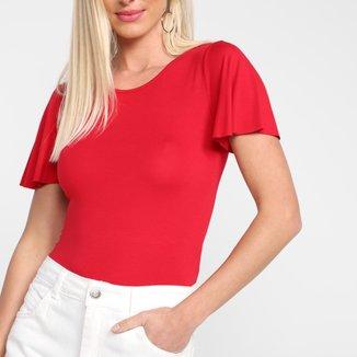 Blusa Cativa Básica Lisa Feminina
