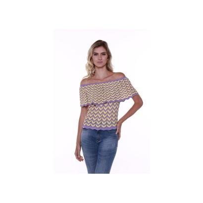 Blusa Ciganinha Studio 21 Fashion Tricot
