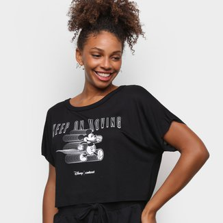 Blusa Colcci Keep Moving Mickey Feminina