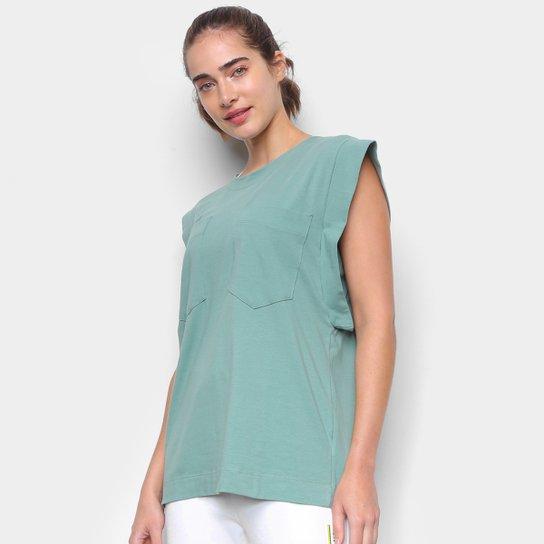 Blusa Colcci Lisa C/ Bolso Feminina - Verde