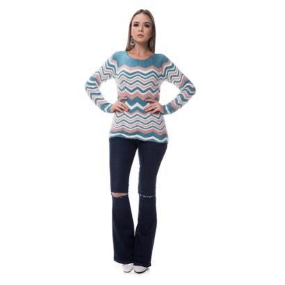 Blusa Corporio Tricot Angora-Feminino