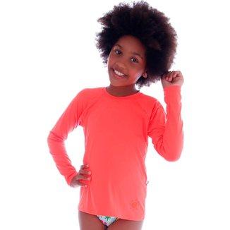 Blusa de Proteção UV Infantil  Neon  Cecí