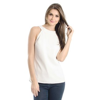 Blusa Decote Costas Calvin Klein Feminina