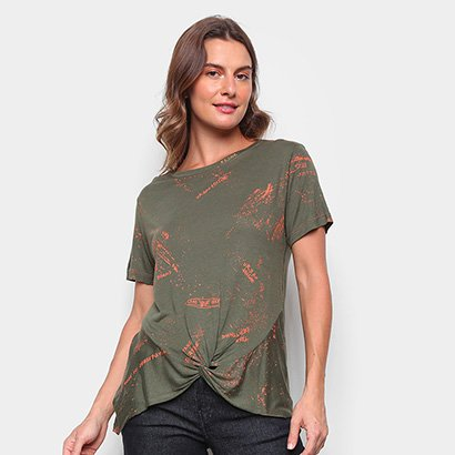 Blusa Ellus Linen Ellus All Over Feminina