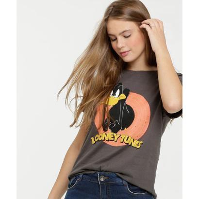 Blusa Estampa Patolino Looney Tunes Feminina