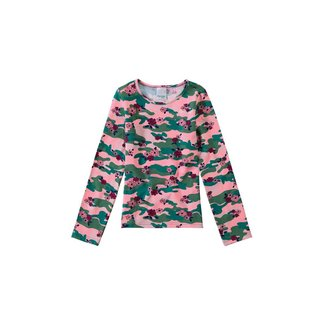 Blusa Estampada Em Cotton Light Malwee Kids Vermelho - 3 Malwee Kids