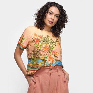 Blusa Farm T-Shirt Doce Rio Feminina
