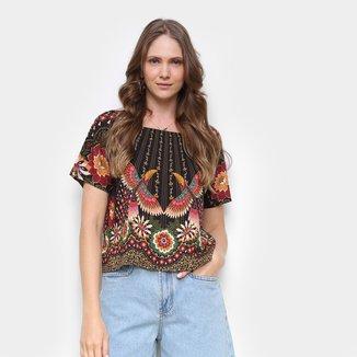 Blusa Farm T-Shirt Tucano Majestoso Feminina