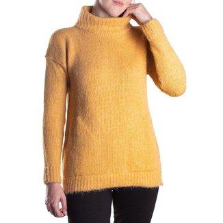 Blusa Feminina Biamar Gola Alta Amarelo