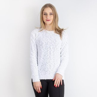 Blusa feminina de malha mesclada 31265