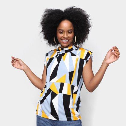 Blusa Hering Multi Color Feminina