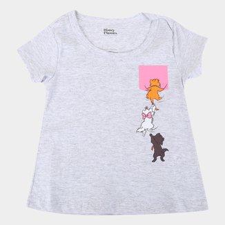 Blusa Infantil Disney Marie Cats Feminina