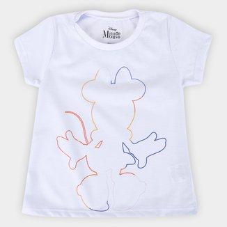Blusa Infantil Disney Minnie Colors Feminina