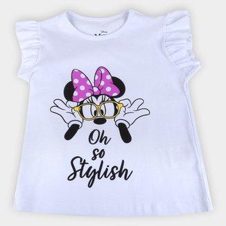 Blusa Infantil Disney Oh Stylish Minnie Feminina