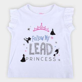 Blusa Infantil Disney Princess Feminina